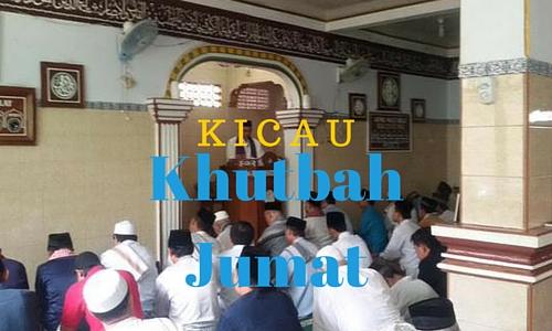 Kicau Khotbah 25 September 2015