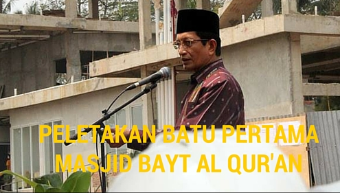 Arah Strategis Pembangunan Masjid Bayt Al-Qur'an di Tangerang Selatan