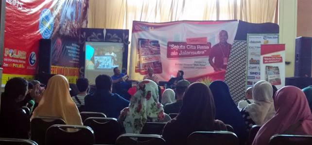 Talkshow Buku Jalan Sutra di Pesta Buku Bandung 2015