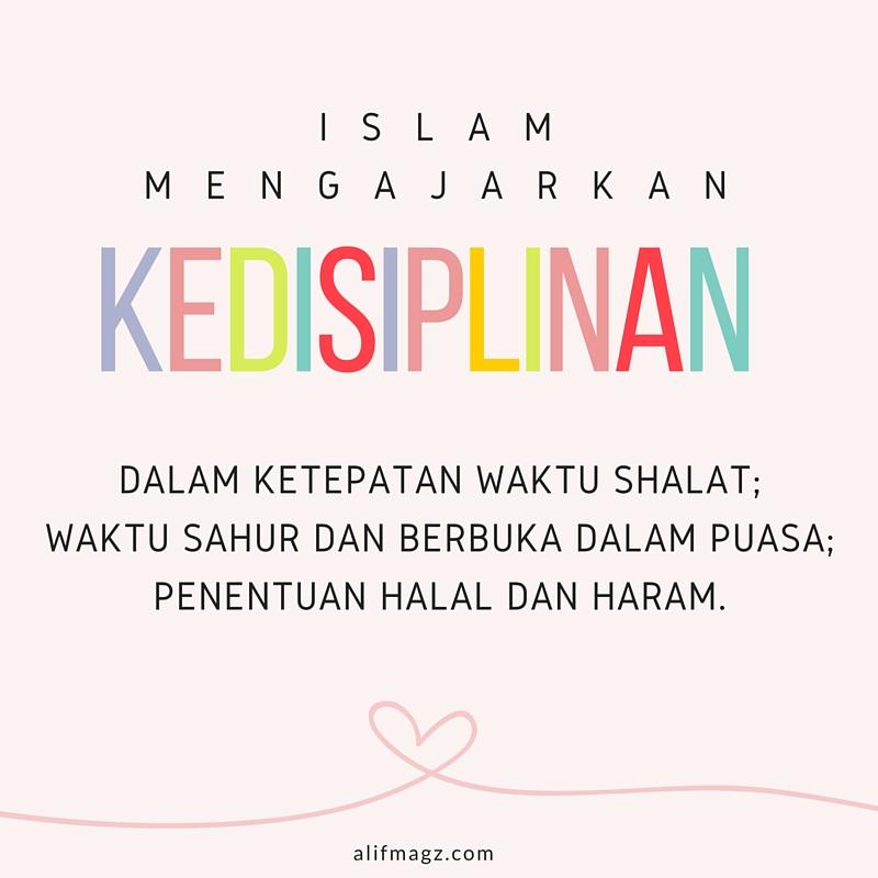 Disiplin dalam Islam 220316