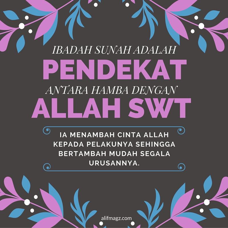 Ibadah Sunah 280416