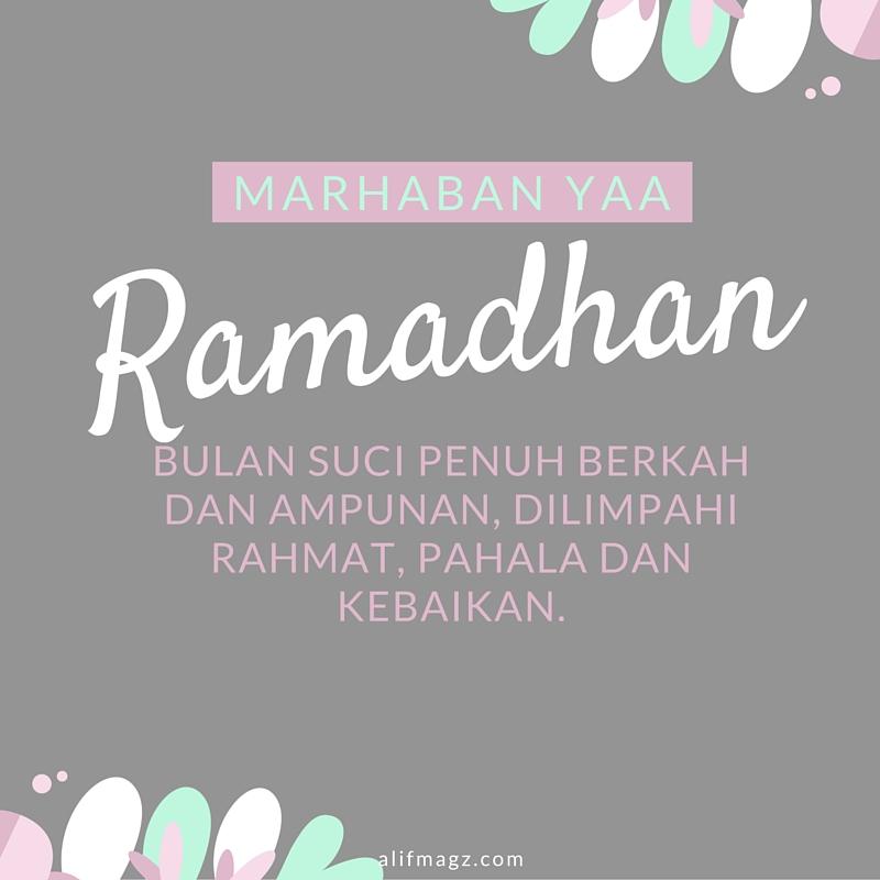 Marhaban Yaa Ramadhan 060616