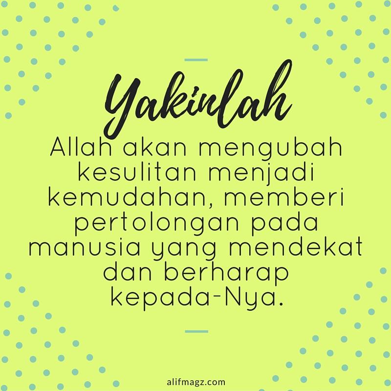 Berdoa dengan Penuh Keyakinan 120716