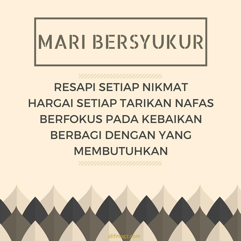 Mari Bersyukur 250716