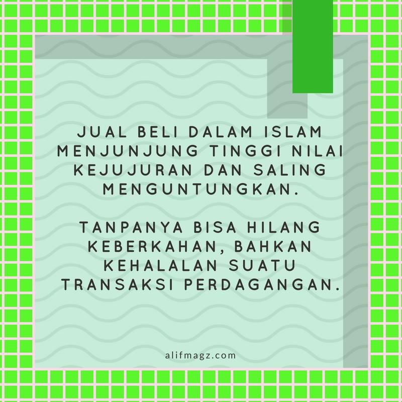 Jual Beli dalam Islam 180117